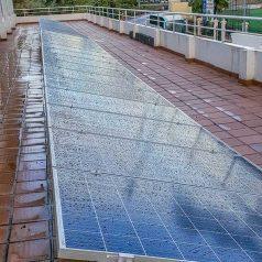 solar panel butterfly park